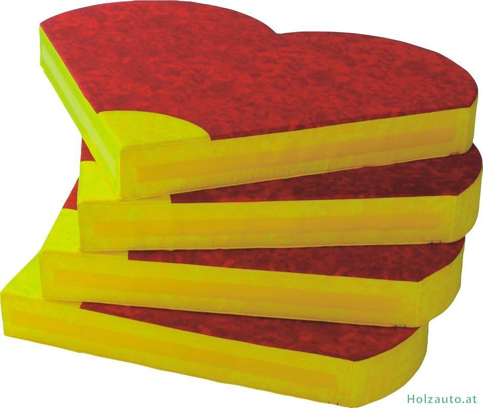 bodenpolster blume rot gelb einzeln kaufen. Black Bedroom Furniture Sets. Home Design Ideas